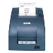 Tm-u220pb (057) - Colour Receipt Printer - Dot Matrix - 76mm - Parallel - Dark Grey