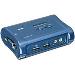 USB KVM Switch Kit 2-port With Audio