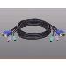 KVM Super-flex Cable Kit Ps/2 3m