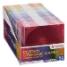 Cd/DVD Color Slim Cases 50-pk