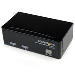 KVM Switch USB/ Vga 2port W/4port USB Hub Cables Included