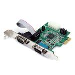 Pci-e Serial Adapter Card 2port Rs232 With 16950 Uart
