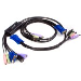 KVM Switch 2 Port USB Vga Cable With Audio