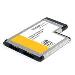 Flush Mount Expresscard 54mm ESATA Ii Controller Adapter Card 2 Port