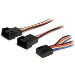Pwm Fan Extension Power Y Cable F/m 4 Pin 12in