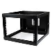 Depth Hinged Open Frame Wall Mount Server Rack 6u 22in