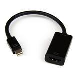 Mini DisplayPort To Hdmi 4k Audio / Video Converter - Mdp 1.2 To Hdmi Active Adapter Black