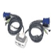 KVM Switch Miniview Micro Plus 2-port USB With Built-in Cables