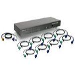 KVM Switch 16-port USB Ps/2 Combo With Cables