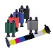 5 Panel Color Ribbon Ymcko / 200 Cards/roll