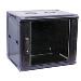 19in Wall Cabinet 9u Black Ral7021 (hxwxd) 505x570x465mm